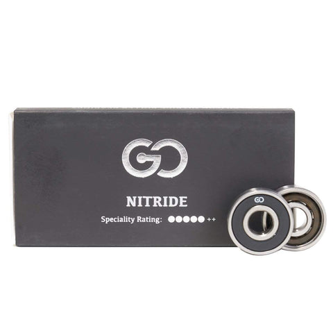 Go Project Nitride Ceramic Skate Bearings - Loco Skates