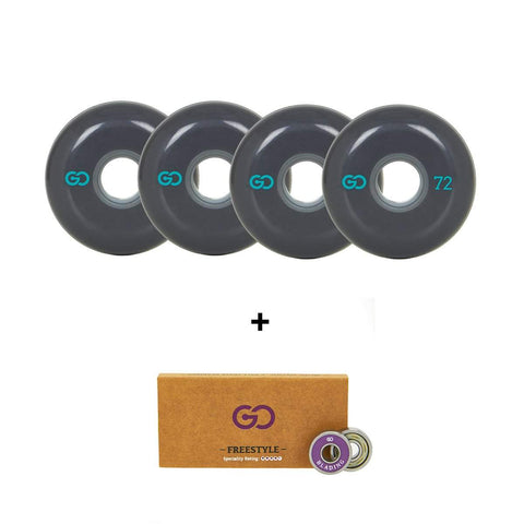 Go Project 72mm Wheel and Bearing Pack - Loco Skates