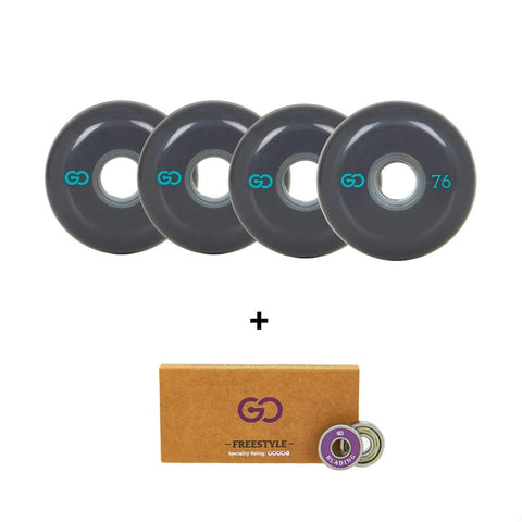 Go Project 76mm Wheel and Bearing Pack - Loco Skates