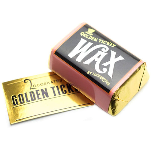 Loco Skates X Fox Wax Golden Ticket Wax