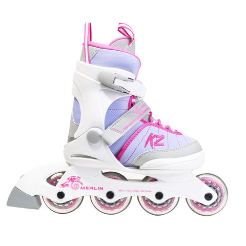 K2 Merlin Jr 2020  - Junior Girls Adjustable Skates