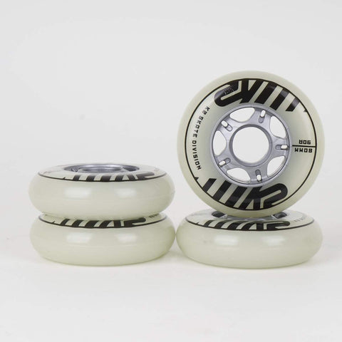 K2 Freeride Glow Wheel 80mm 4 Pack - Loco Skates