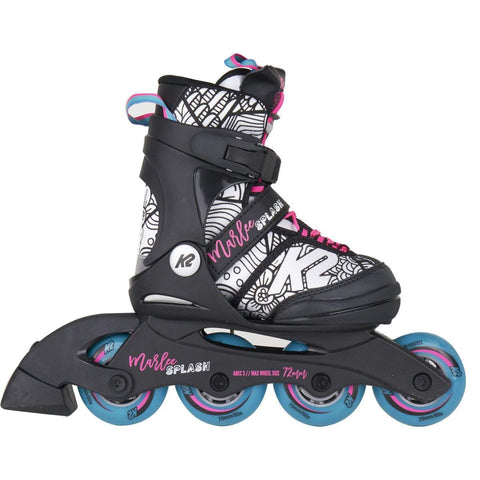 K2 Marlee Splash 2020 Junior Girls Skates - Pink & Blue