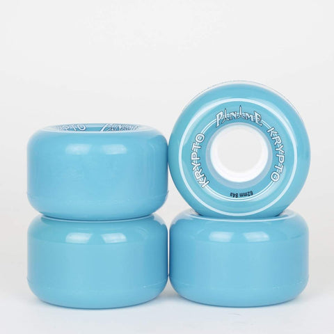 Kryptonics Paname 62mm 84a Roller Skate Wheels -  Cyan