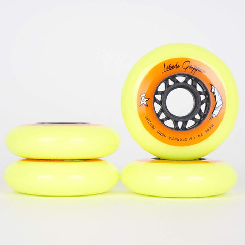 Labeda Gripper Indoor Wheels - Medium Hardness - 72mm / 76mm / 80mm - Loco Skates