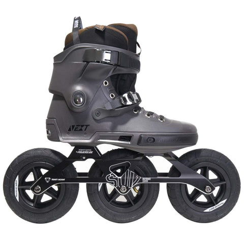 Powerslide Next Outback 150 Custom Grey Off Road Skates