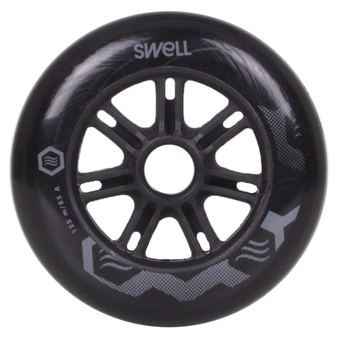 Powerslide Swell 125mm 86a Wheels - Black