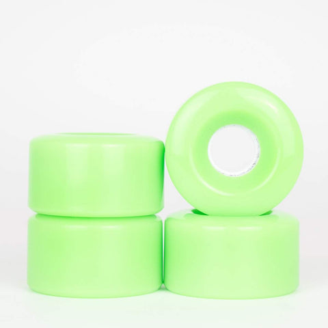 Powerslide Blank Green Quad Wheels 58mm - Loco Skates