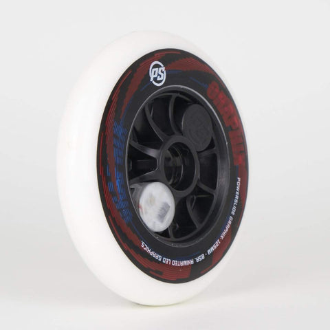 Powerslide Graphix 125mm Colourful Wheels (Singles)