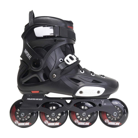 Powerslide Imperial One 80 Skates - Black / Crimson