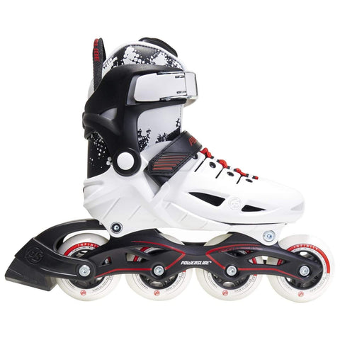 Powerslide Phuzion Universe Size Adjustable Junior Skates - White