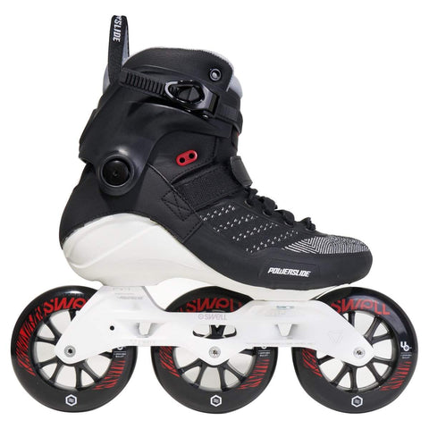Powerslide Swell 110 Metallic Black Skates - Loco Skates