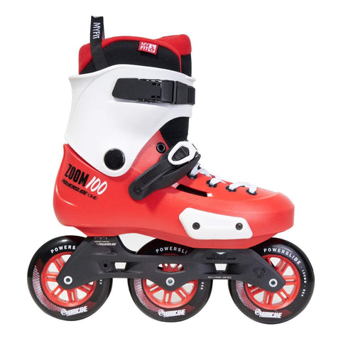 Powerslide Zoom 100 Skates - Red - Loco Skates