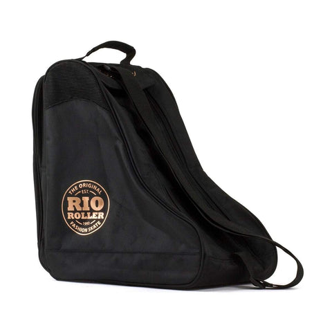 Rio Roller Rose Skate Bag - Black - Loco Skates