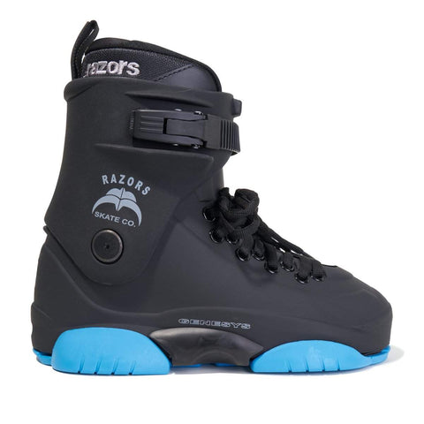 Razors Genesys LE Black/Blue 2019 Boot Only - Loco Skates