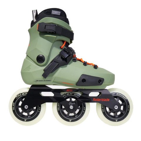 Rollerblade Twister Edge Edition 2 Skates - Olive / Orange