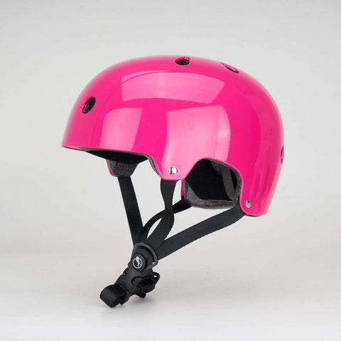 SFR Essentials Gloss Pink Fluro Safety Helmet