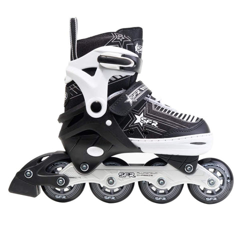 SFR Pulsar Junior Adjustable Silver Skates