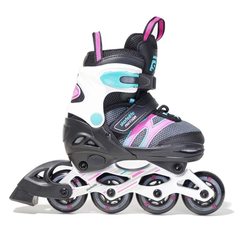 Skatelife Motion Junior adjustable skates - Pink