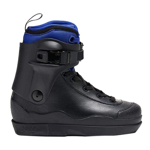 Them Skates U1 Black Boot Only With New Intuition 908 Blue Liner - Loco Skates