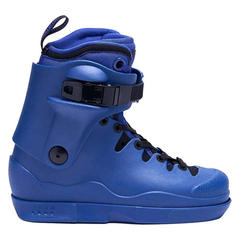 Them Skates Blue 908 With New Blue 908 Intuition Liners Boot Only - Loco Skates