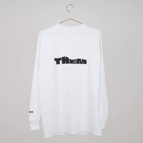 Them Goods Wave Long sleeve T-Shirt White