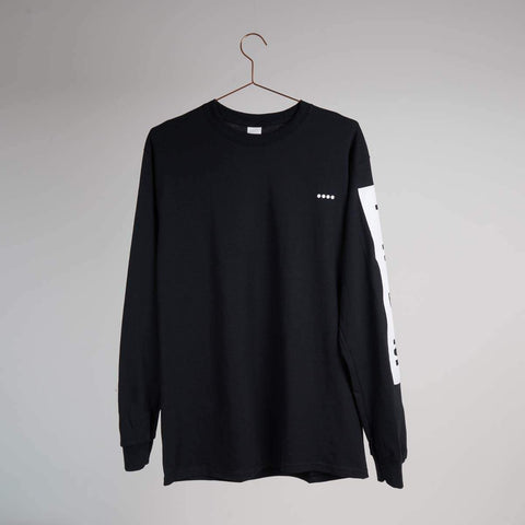 Them Goods Long sleeve Block T-Shirt Black