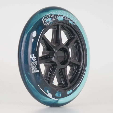 Undercover Gummies Wheels 125mm 84a - Blue - Sold Individually
