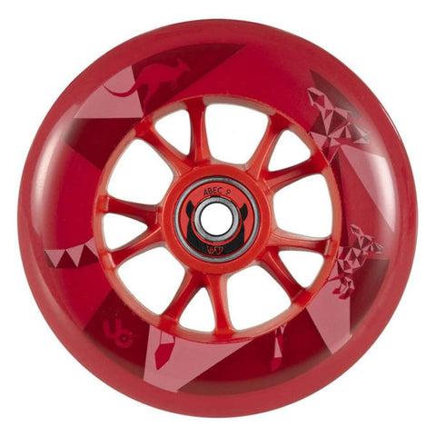 Undercover by Matter Kangaroo Biggie Line Red Wheels 100mm - Sold Individually