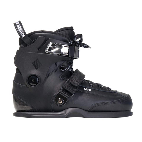 USD Carbon 2021 Black Boot Only Skates