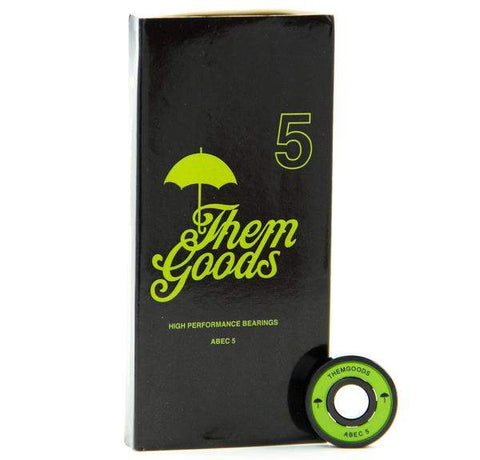 Them Goods High Performance ABEC 5 Bearings