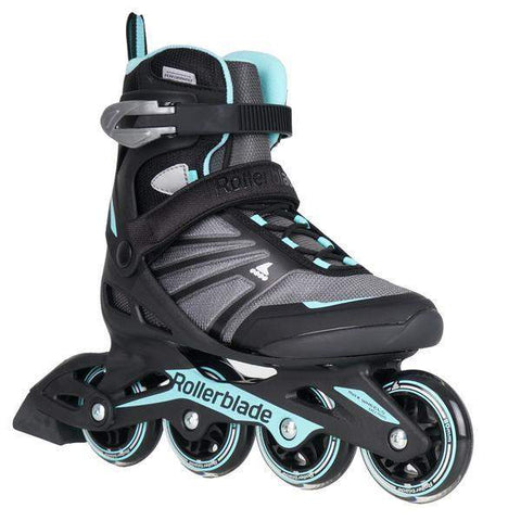 Rollerblade Zetrablade W Black/ Light Blue Womens Skates