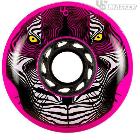 Undercover Tiger FSK Powerblade Pink Wheels 80mm
