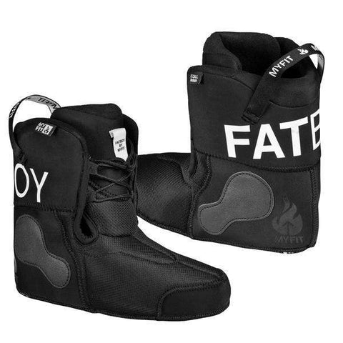 Powerslide MyFit Fatboy Dual Fit Performance Black Liners - Loco Skates