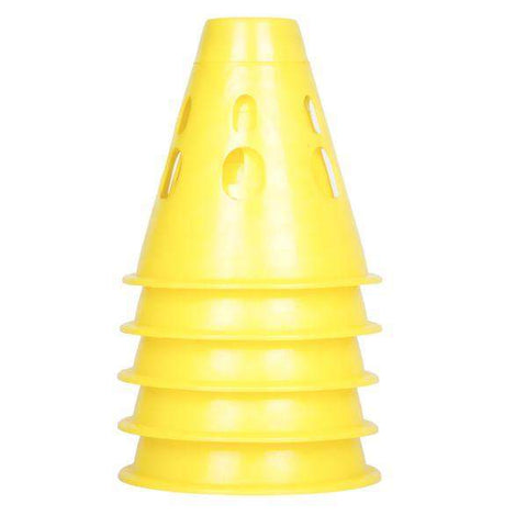 Loco Disco Light up Slalom Cones - Yellow - Loco Skates