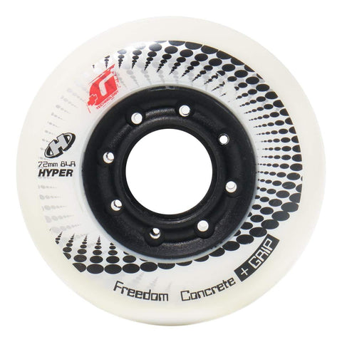Hyper Concrete +G SECONDS Wheels 72mm - Set of 4
