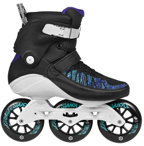 Powerslide Swell Trinity 110 Voltage Blue Skates - Loco Skates