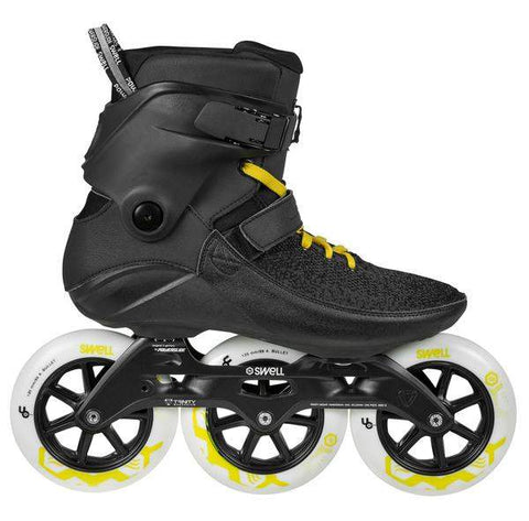 Powerslide Swell 125 Black City 2018 Skates - Loco Skates