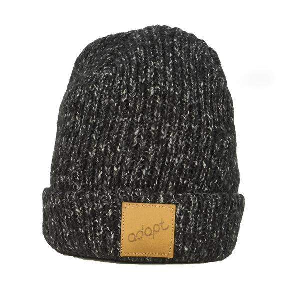 Adapt Knit Black Heather Beanie