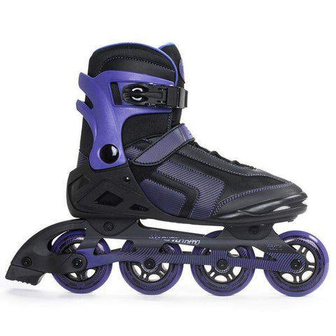 SFR Air X-Pro 80 Inline Black / Purple Skates - Loco Skates