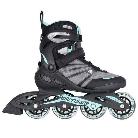 Rollerblade Zetrablade W Black/ Light Blue Womens Skates - Loco Skates