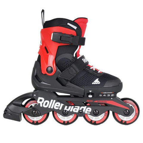 Rollerblade Microblade Junior Skates - Black / Red