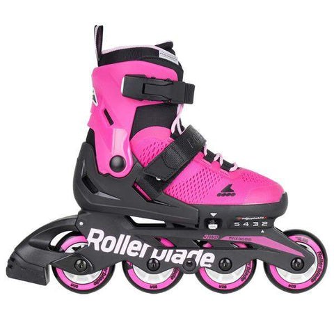 Rollerblade Microblade G Junior Skates - Pink / Bubble Gum