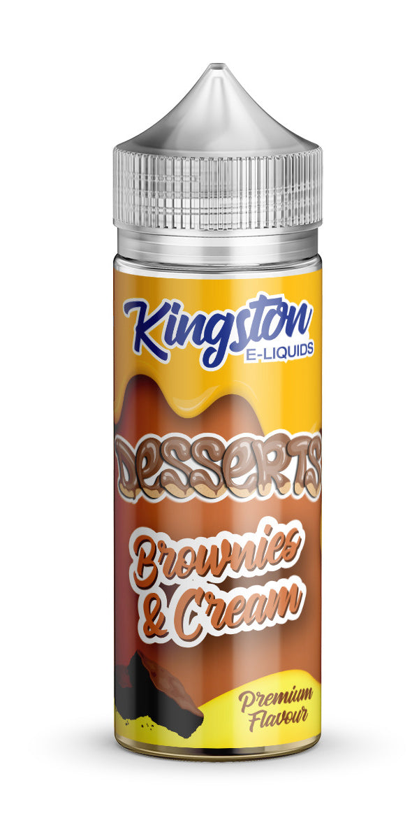 Kingston Desserts - Brownies and Cream