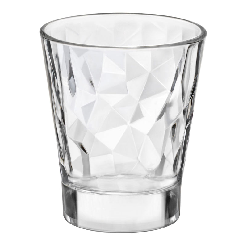 Bormioli Rocco Diamond Dimpled Shot Glasses - 80ml - Pack of 6