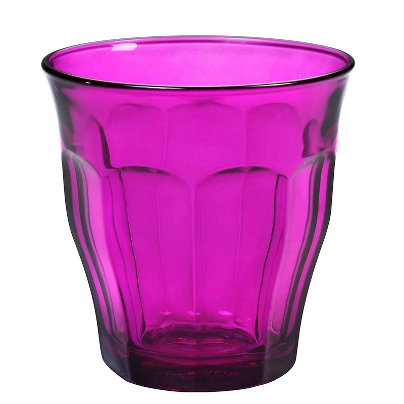 Duralex Picardie Glass Drinking Tumbler - Purple - 250ml
