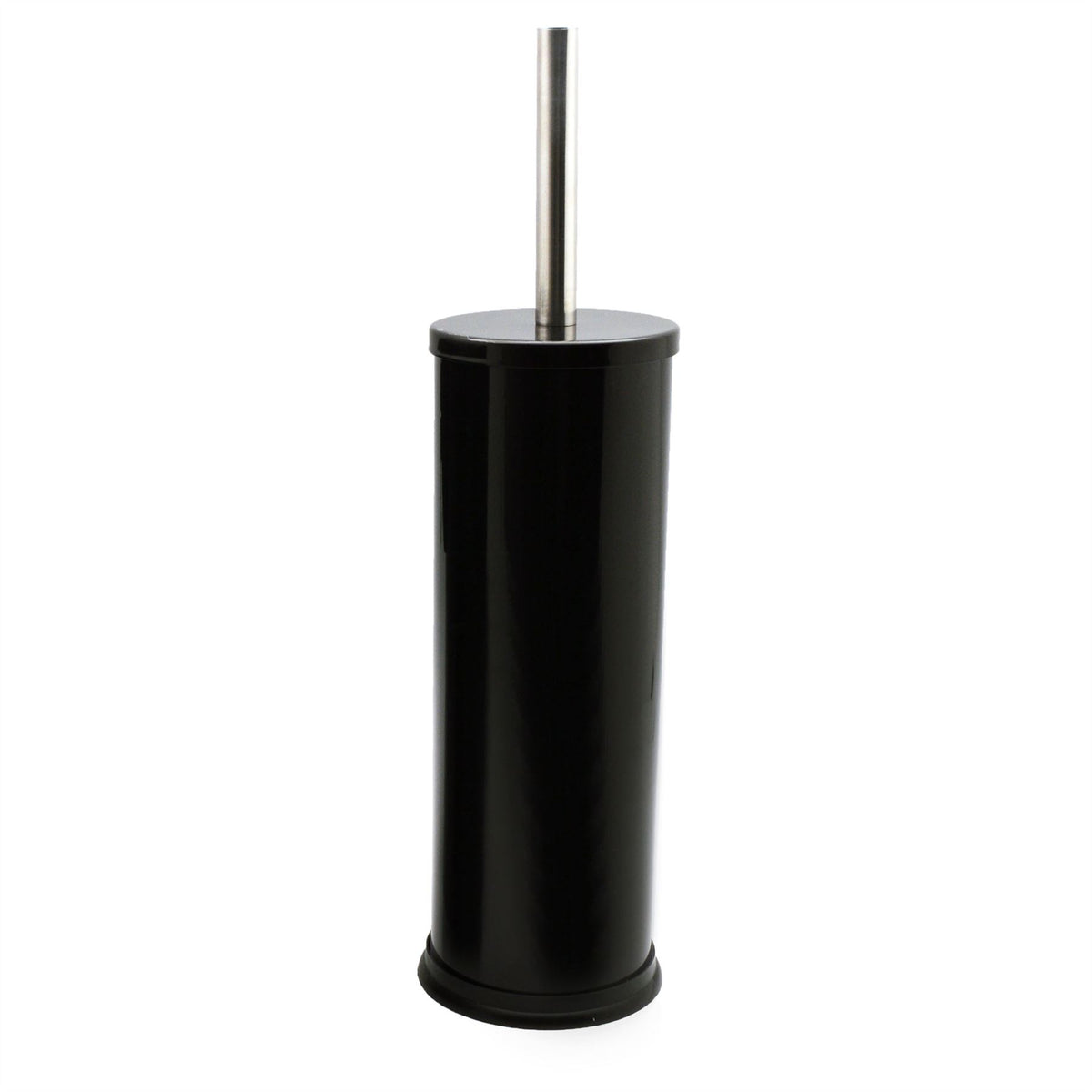 Harbour Housewares Bathroom Toilet Brush & Holder Set - Black