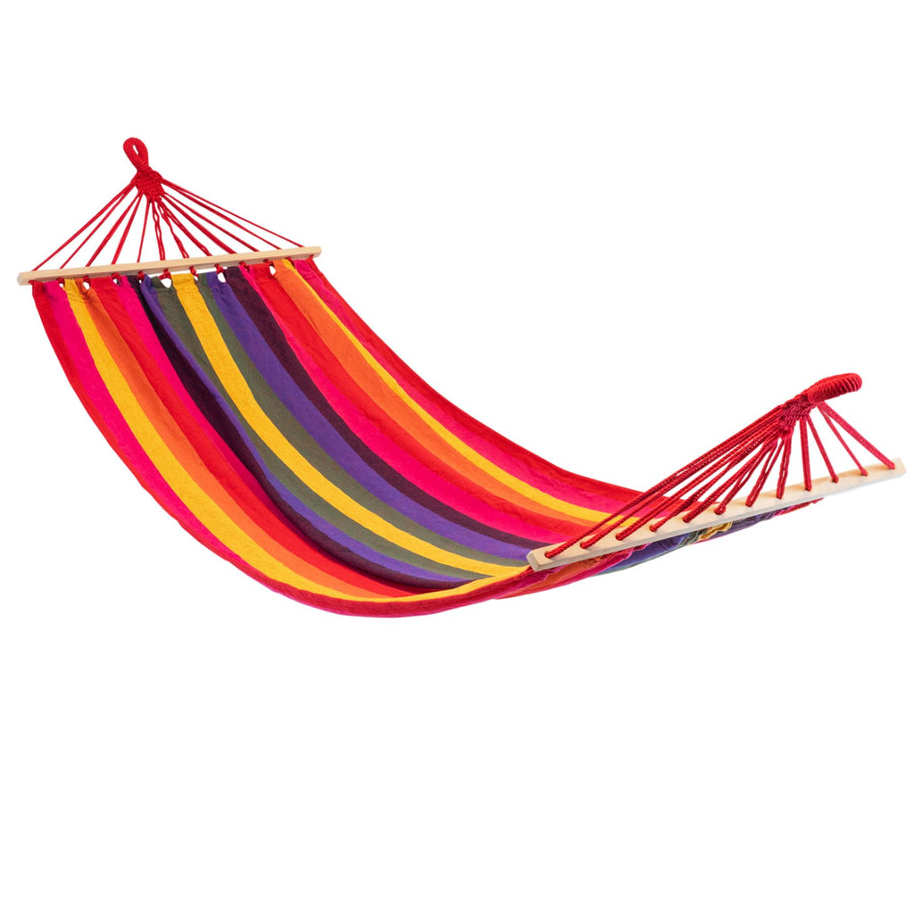 Harbour Housewares Brazilian Garden Hammock - Multicolour
