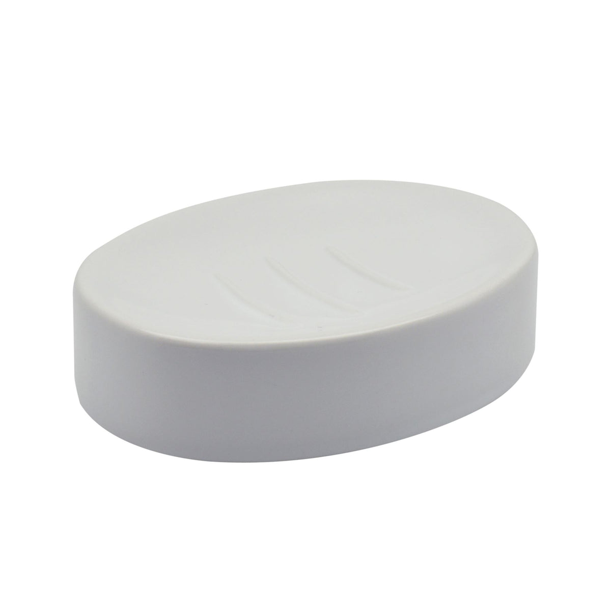 Harbour Housewares Ceramic Soap Saver Dish - White