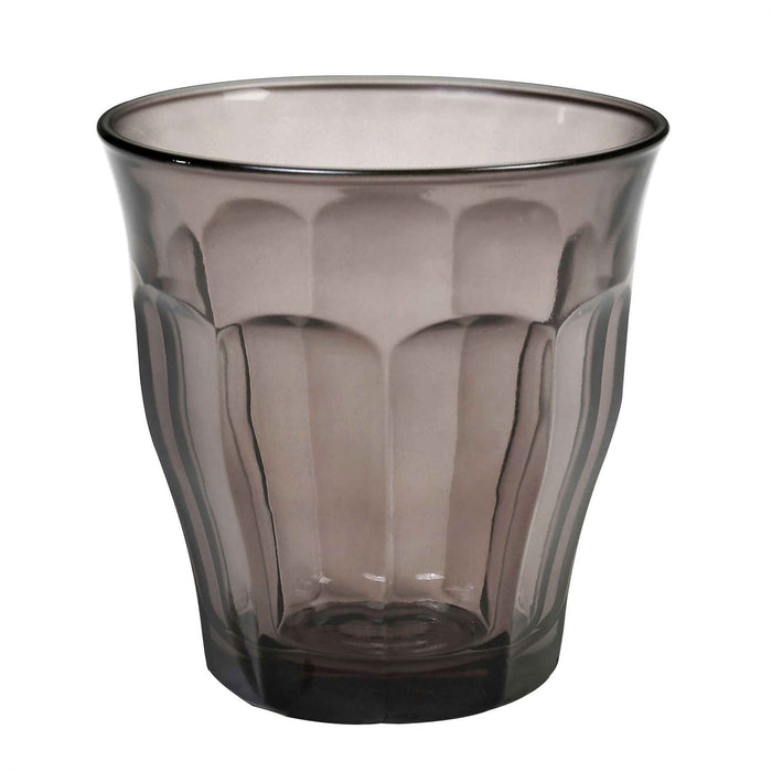 Duralex Picardie Glass Drinking Tumbler - Grey - 250ml